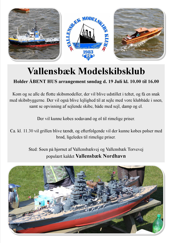 Åbent Hus VMK Juli 2015