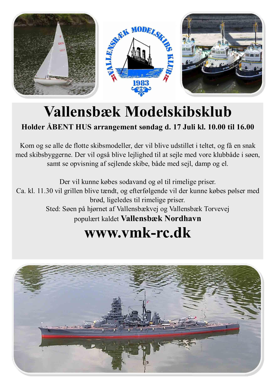 Åbent Hus VMK Juli 2016