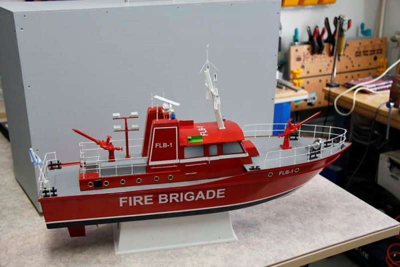 Brandbåd fra Robbe
